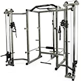 Valor Fitness BD-11BCCL Hard Power Rack Cable Crossover & LAT Pull Attachments