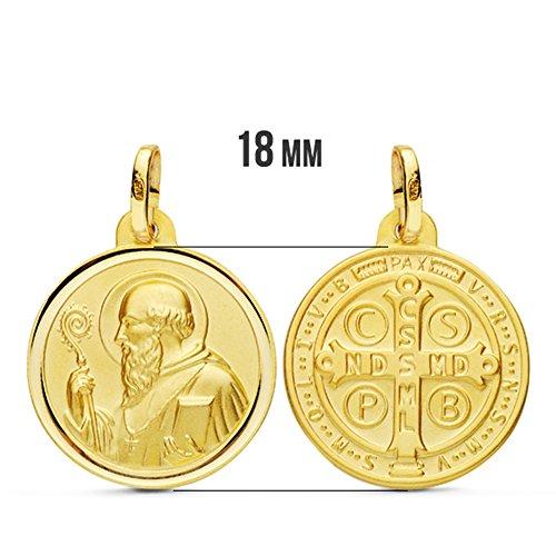 ca1a9b29b9 Medalla San Benito 18 Ktes 18mm Envio gratis - www.dzcshop.top