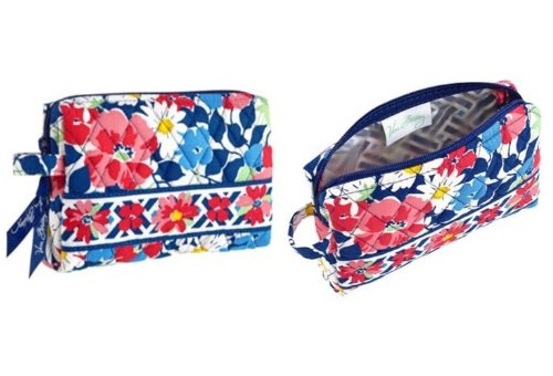 Vera Bradley Small Cosmetic in Summer Cottage, Bags Central