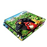 Decorative Video Game Skin Decal Cover Sticker for Sony PlayStation 4 Slim Console PS4 - Angry Birds