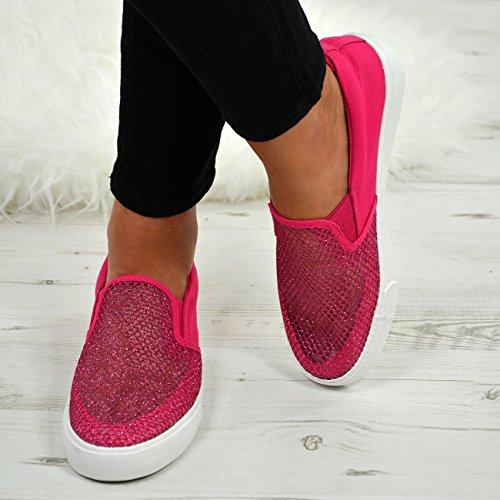 Cucu Sandales Fuchsia Femme Fashion Compensées xTqw7xAOR