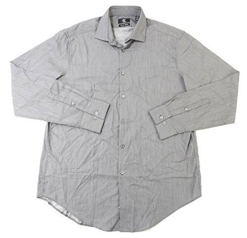 jachs-city-smart-mens-size-medium-80s-doubles-button-down-shirt-grey