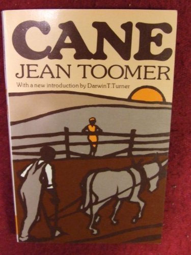 Cane by Toomer, Jean; With an Introduction by Turner, Darwin T. published by Liveright (1975) [Paperback]