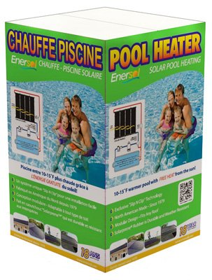 Enersol 1' x 8' Solar Pool Heater