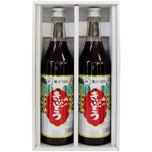 TasukuMiyuki # 35 gift set (100% fruit juice grape juice 600mlX2 pieces) by TasukuMiyuki