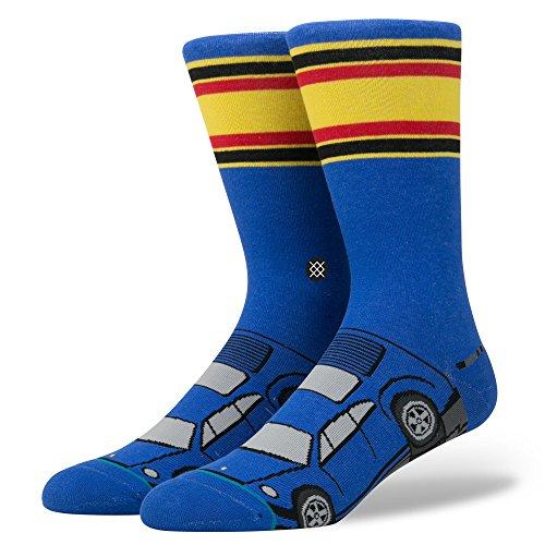 Stance Men's Jerry Crew Sock - Blue (Grand Prix Shoes)