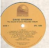 David Grisman: The Rounder Album LP VG+/VG++ Canada Stony Plain SPL-1030