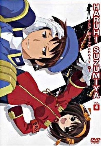 The Melancholy of Haruhi Suzumiya, Vol. 4 DVD by Tomokazu ...