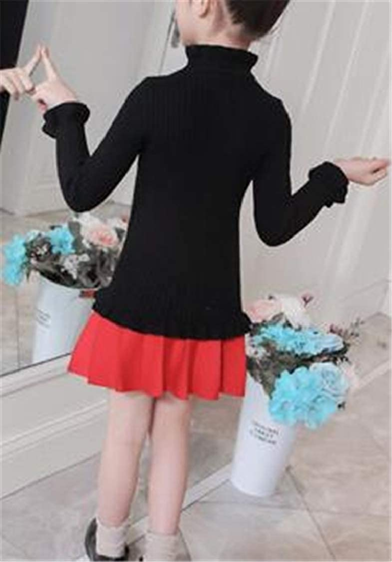 pipigo Girls Fit Knitted Fashion Jumper Pullover Cute Sweaters