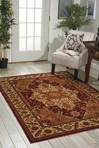 Nourison Paramount Collection Gold Area Rug, 7 feet 10 Inches by 10 feet 6 Inches 7 10 x 10 6