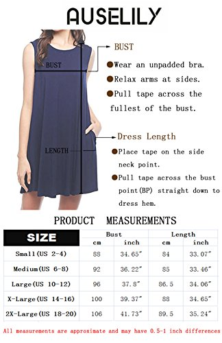 AUSELILY-Womens-Long-Sleeve-Pockets-Casual-Swing-T-shirt-Dresses