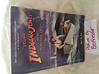 book cover of Young Indiana Jones and the Pirates\' Loot