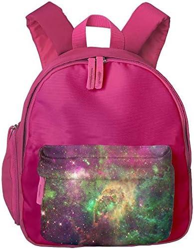 ADGBag Children's Color Dream Starry Sky Print Children's Fashion Backpack Bookbag Schoolbag Shoulders Bag for Kids Kinder Rucksack