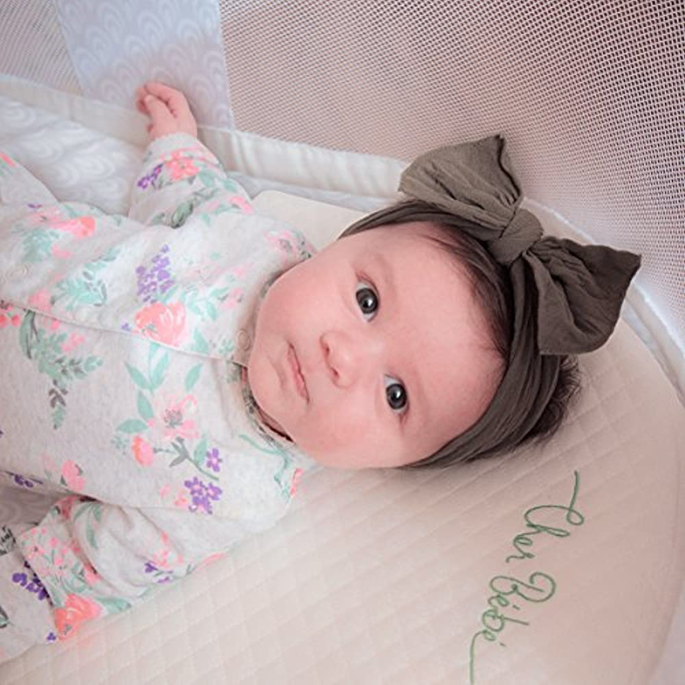Oval Bassinet Wedge Pillow For Acid Reflux High Incline