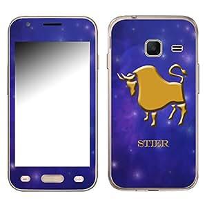 "Motivos Disagu Design Skin para Samsung Galaxy J1 mini (SM-J105H/DS): ""Stier"""