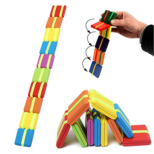 SICA 20PCS Multicolor Wooden Magical Game Children Education Creative Toy