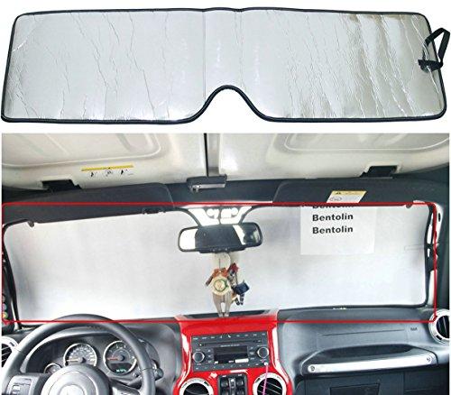 jeep windshield sun shade - 8