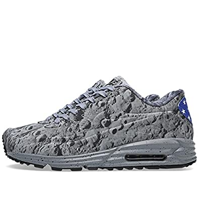 new concept 8985f 8e251 Amazon.com   Nike Mens Air Max Lunar90 SP Moon Landing Synthetic Athletic  Sneakers   Basketball