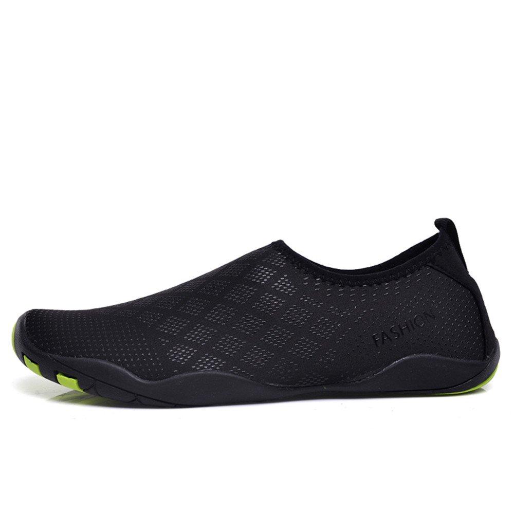 Zapatos de agua para hombre Playa para nadar para mujeres Zapatos de secado  rápido Piscina Aqua Socks Zapatos para Surf Aeróbicos acuáticos de yoga  Diamante ... b6d8242cd038