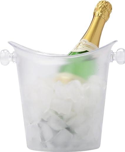 Enfriador de vino 25 X 22 X 22 Cm Botella enfriador para 1L Frosty enfriador de