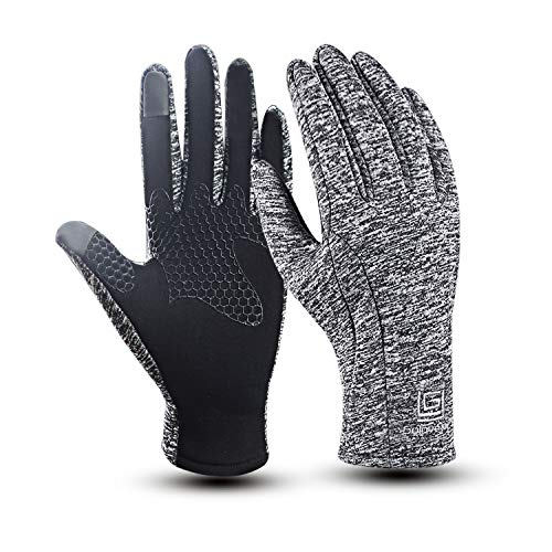 new concept 9e24b 50b5f Winter Gloves, WeiMeet Cold Weather Windproof Thermal Touchscreen Gloves  Men Women For Cycling Running Outdoor Activities