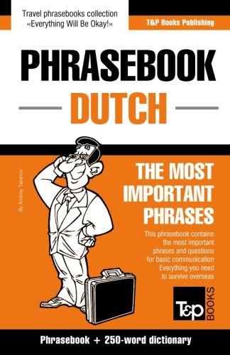 English-Dutch phrasebook and 250-word mini dictionary...