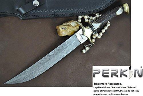 UPC 722301238806, Now on Sale - Custom Handmade Damascus Hunting Knife - Beautiful Bowie Knife - Amazing Value