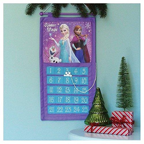[해외]움직일 수있는 눈송이를 가진 크리스마스에 얼는 펠트 카운트 다운 Disneys/Disneys Frozen Felt Countdown to Christmas with Movable Snowflake