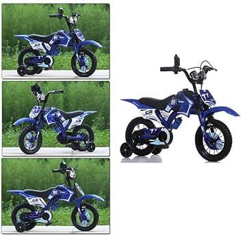 WILD GYM - Bicicleta de moto para niños y niñas con estabilizador de 30,48