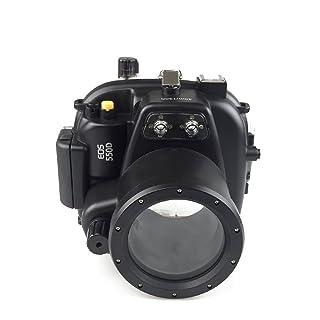 Sea frogs Underwater Case 130FT/40M Underwater Camera Diving Waterproof Housing for Canon DSRL 550D (Lens 18mm-55mm)