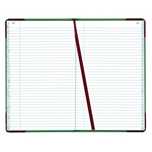 (Boorum & Pease Canvas Account Book, Record, 16 Lb, 12 1/2