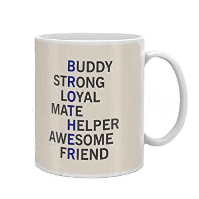 Indigifts Raksha Bandhan Gifts For Brother Meaning Of Quote White Coffee Mug 330 Ml