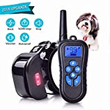 Shock Collar for Dogs 1650 FT Rechargeable IPX7 Waterproof Dog Shock Collar with Remote for Small Medium Large Dog Training Collar Vibration Beep Shock LED Light Shock Collar Review