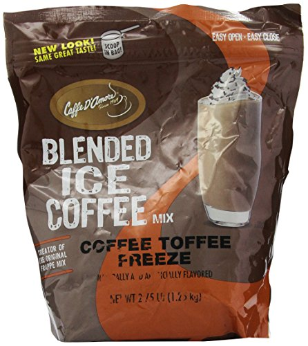 Frappe Freeze Crunch Coffees, Coffee Toffee, 2.75-Pound
