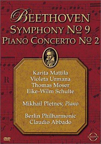 Beethoven - Symphony No. 9 & Piano Concerto No. 2 / Abbado, Pletnev, Berlin Philharmonic