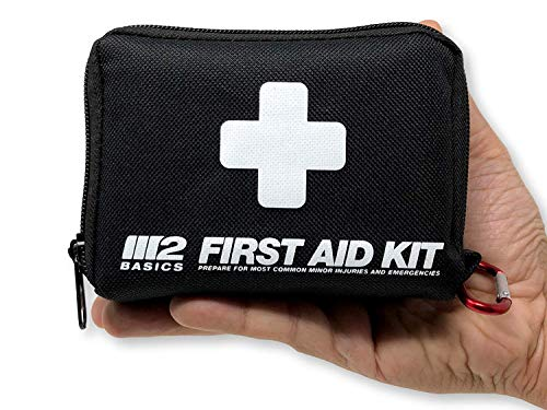 M2 BASICS 150 Piece First Aid Kit w/Compact Bag