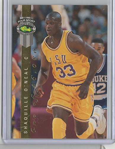 1992 Classic Four Sport Draft Picks Shaquille O'Neal Card # (1992 Classic Draft Picks)