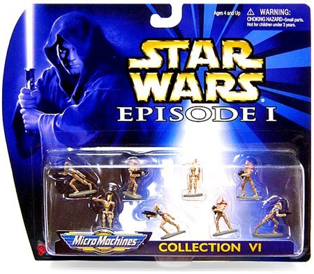 (Micro Machines Star Wars Episode I Collection VI Battle of the Droids Mini Figure Set )