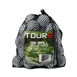 Titleist Pro V1, C Grade Recycled Golf Balls in Mesh Bag, Value Pack of 36