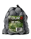 Titleist Pro V1X, C Grade Recycled Golf Balls in Mesh Bag (Value Pack of 36)