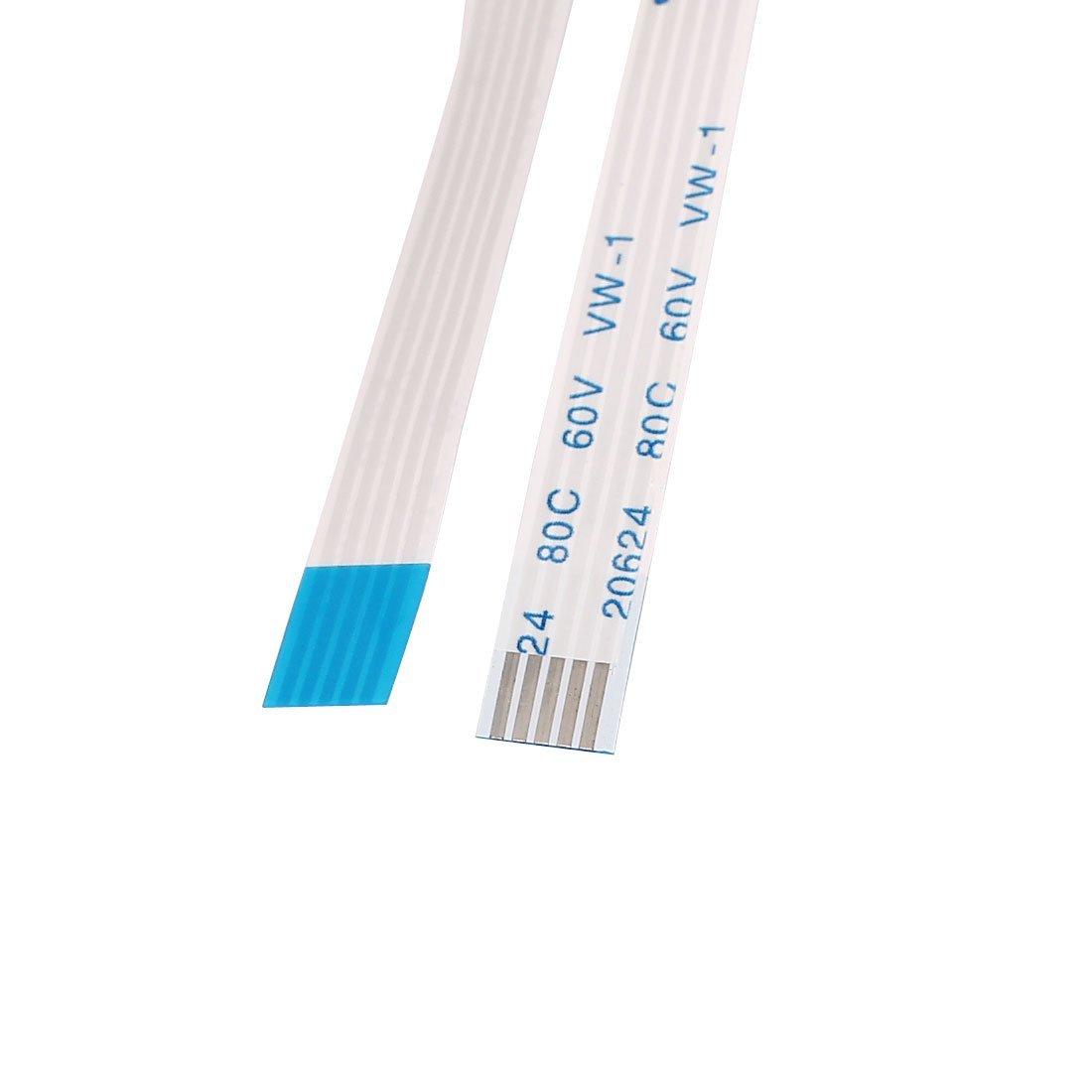 eDealMax a15072900ux1644 10Pcs 1, 0 mm de paso 5 Pin Flexible Flat Cable de Cinta Fpc Ffc conecta el alambre 550 mm: Amazon.com: Industrial & Scientific