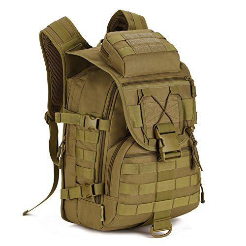 X-Freedom 40L Sport Large Waterproof Military Tad Tactical Assault Backpack Gear Daypack Army Molle System Rucksack Outdoor Camping Hiking Trekking Hunting Bag