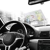 KOBWA HD Head Up Display Reflective Film,Universal HUD Polarizing Film for Car