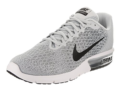 Pure Black 2 Platinum Running Sequent Mens Air Max Nike Grey Shoes 0zZfqA7