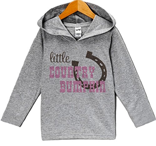 Custom Party Shop Baby Girls' Novelty Cowgirl Hoodie Pullover 4T Grey and Pink