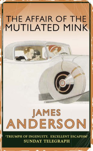 book cover of The Affair of the Mutilated Mink Coat
