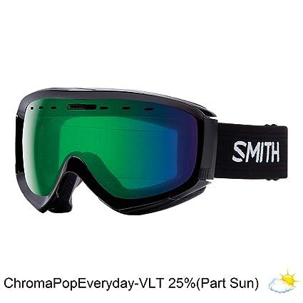 718d8b9097 Smith Optics Adult Prophecy OTG Snow Goggles Black Frame ChromaPop Everyday  Green Mirror