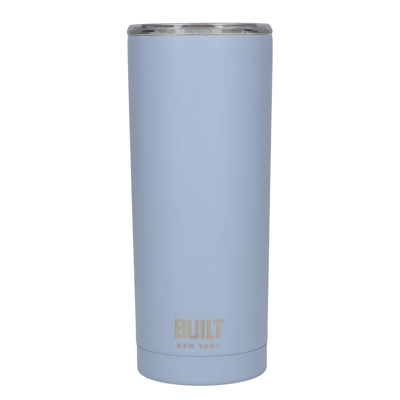 Set di 2 borracce da 565 ml a doppia parete isolante sottovuoto in acciaio inox 18//8 Silver