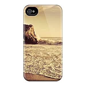 Top Quality Protection Nature Beach Rocks On The Seashore Cases Covers For Iphone 6