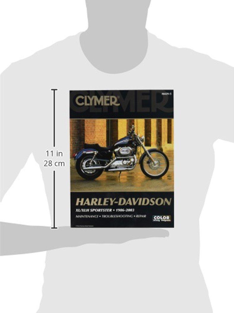 Clymer Harley Davidson XL Sportster (04-06) Manual M427-1 by Clymer (Image #3)